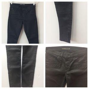 Express Black Jeans  Ankle Leggings  Mid Rise